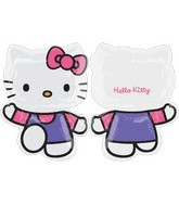 "30"" Hello Kitty Balloon Pink and Purple"