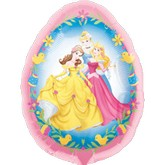 "27"" Disney Princess Easter Egg Balloon"