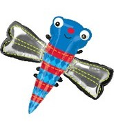 "48"" Blue Dragonfly Balloon"