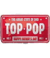 "22"" The Great State of Top Pop Father's Day"