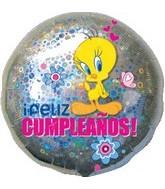 "18"" Feliz Cumpleanos Tweety Balloon"