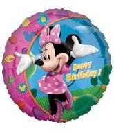 "18"" Mickey Mouse Minnie Happy Birthday"