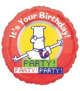 "18"" Dilbert It's Your Birthday! Party!"
