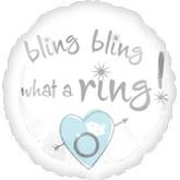 "18"" Bling Bling What A Ring"