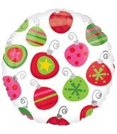 Christmas/Winter Mylar Balloons