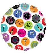 """18"""" New Year Icons"""