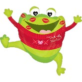 "30"" Toad-ally Kissable Large Balloon"