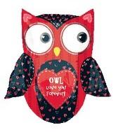 """27"""" Love Owl SuperShape"""