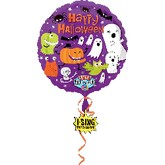 "28""  Singing Balloons Happy Halloween"