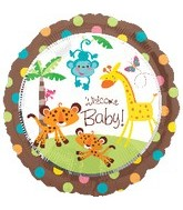 """18"""" Fisher Price Welcome Baby! Balloon"""