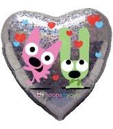 """18"""" hoops&yoyo Holographic Balloon"""