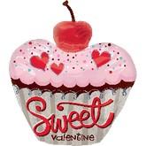 "24"" Sweet Valentine Cupcake"