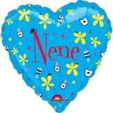 "18"" Heart Mex Nene"