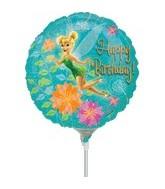 "9"" Mini Balloon (Airfill Only) Tinkerbell Birthday"