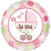 "18"" Es Niña (Baby Girl Spanish)"