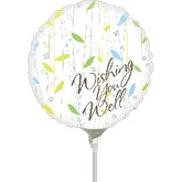 Airfill Get Well Balloons Mylar Balloons