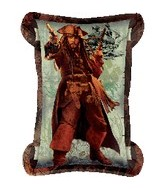 """34"""" Pirates of the Carribbean 4 Scroll"""