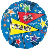"18"" Go Team Balloon"
