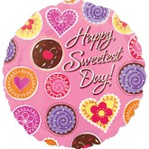 "18"" Sweetest Day Candy Balloon"