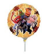 "9"" Mini Balloon (Airfill Only) Muppets"