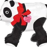 """21"""" Airwalker Valentines Day Panda Bear"""