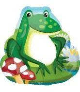 "20"" Frog SuperShape Balloon"