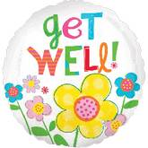 "32"" Get Well Daisy Jumbo Balloon"