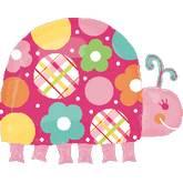 Large Shape Polka Dot Ladybug