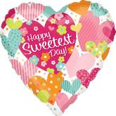 "18"" Sweetest Day Colorful Hearts"