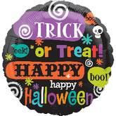 "18"" Halloween Messages"