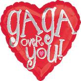 "18"" Gaga Over You! Mylar Balloon"