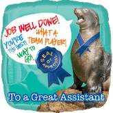 """18"""" Great Assistant Seal Balloon"""