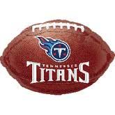 Junior Shape Tennessee Titans Football