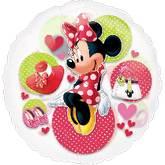 """26"""" Minnie Mouse See-Thru Balloon"""