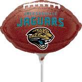 """9"""" NFL Airfill Jacksonville Jaguars Football"""