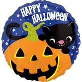 """18"""" Halloween Kitty Balloon"""