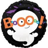 "21"" Happy Halloween Boo Ghost"