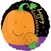 "21"" Happy Halloween Bright Pumpkin"