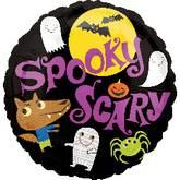 "18"" Spooky Scary Balloon"