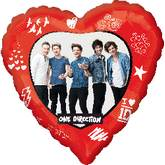 One Direction Balloons Mylar Balloons