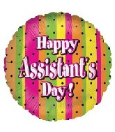 """18"""" Polka Dots Assistant Day"""