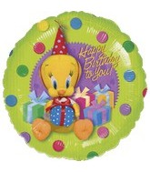 "18"" Tweety Birthday Gifts Balloon"