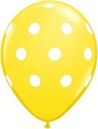 Polka Dots Mylar Balloons