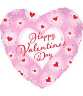 """9"""" Airfill Happy Valentine's Day Heart Twinkles"""